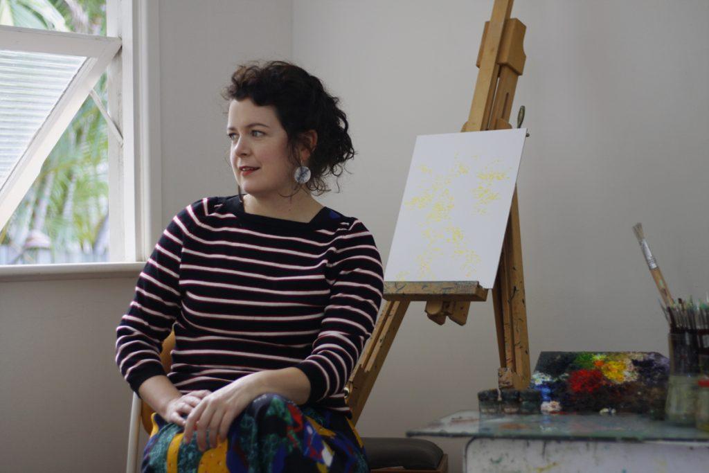 Artist portrait of Monica Rohan. Photography by Mitchell Donaldson