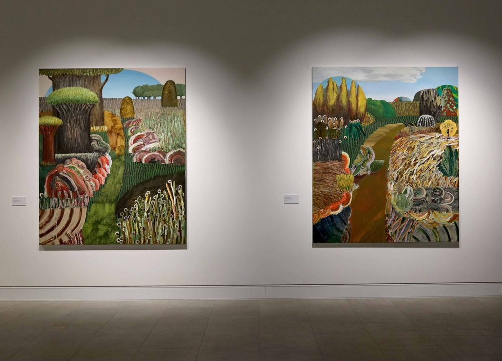 Install view of 'Stories from Homedale'. Image courtesy of Mudgee Arts Precinct.